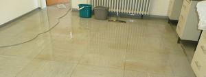 Ein PVC-Boden